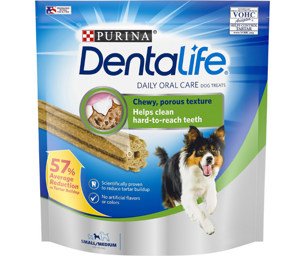 Purina, DentaLife - Daily Oral Care. Chew Treats for Small & Medium Dogs.