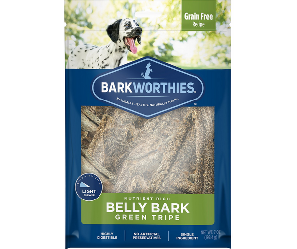 Barkworthies - Green Tripe Sticks. Dog Treat.