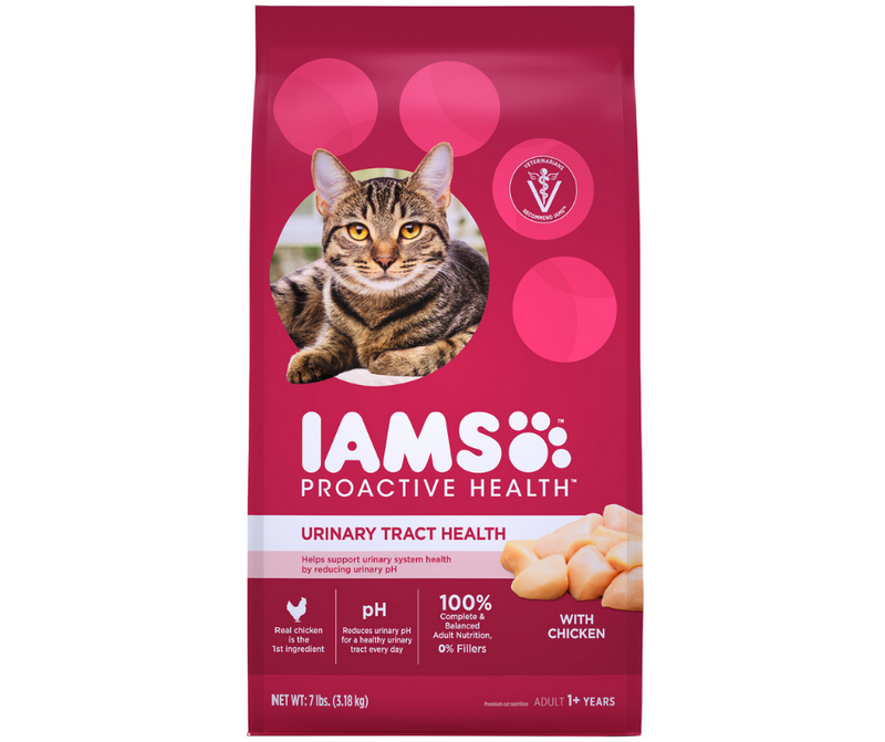 Iams Proactive Health - All Breeds, Adult Cat. Urinary Tract Health, Chicken Recipe. - Southern Agriculture