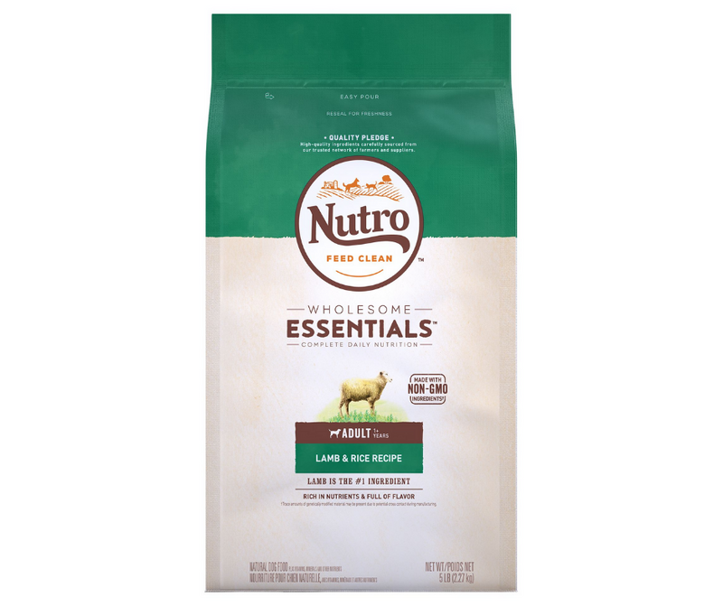 Nutro Wholesome Essentials - All Breeds, Adult Dog. Pasture-Fed Lamb and Rice Recipe - Southern Agriculture