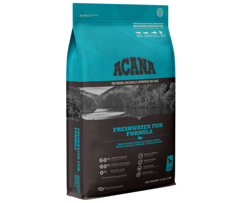 Champion Petfoods Acana - All Dog Breeds, All Life Stages. Freshwater Fish Recipe - Southern Agriculture