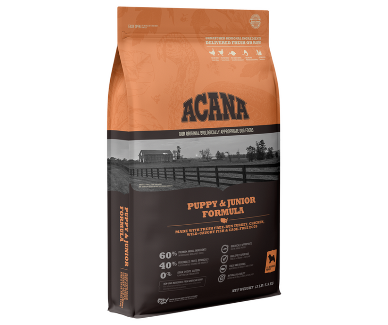 Champion Petfoods Acana - All Dog Breeds. Puppy & Junior Formula - Southern Agriculture