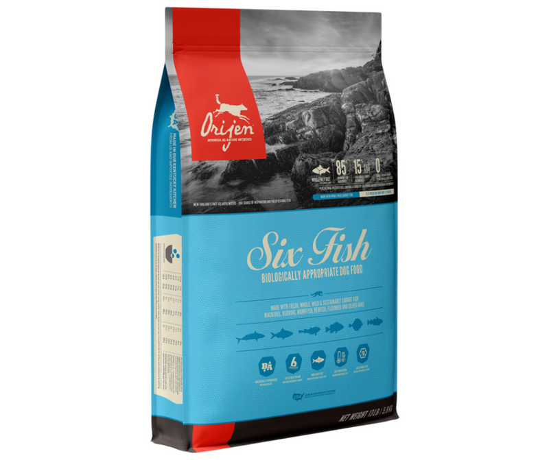 Champion Petfoods Orijen - All Dog Breeds, All Life Stages. Six Fish Recipe - Southern Agriculture