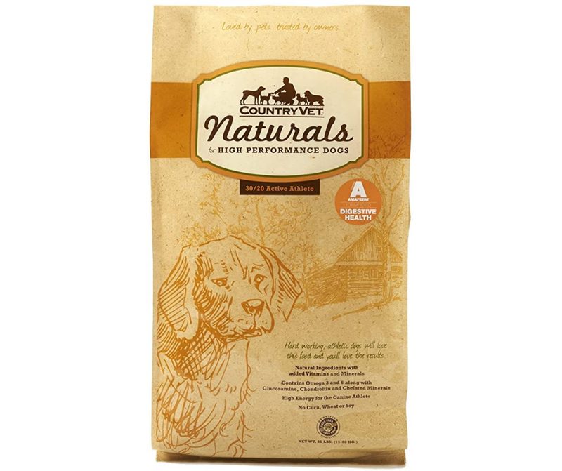 Country Vet - Active Breeds, Adult Dog. Naturals Active 30-20 Formula - Southern Agriculture