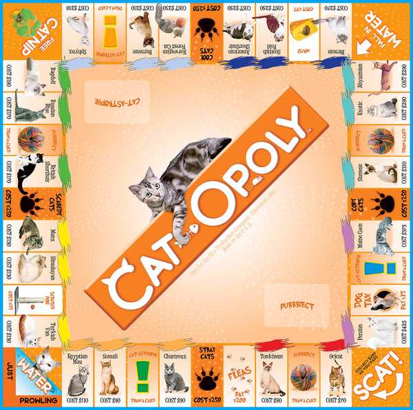 Cat-Opoly Board Game - Southern Agriculture