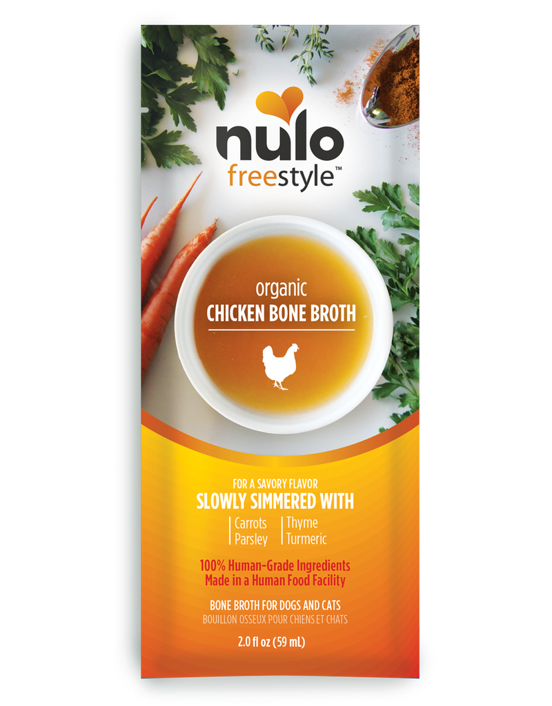 Nulo Organic Chicken Bone Broth 2 oz. - Southern Agriculture