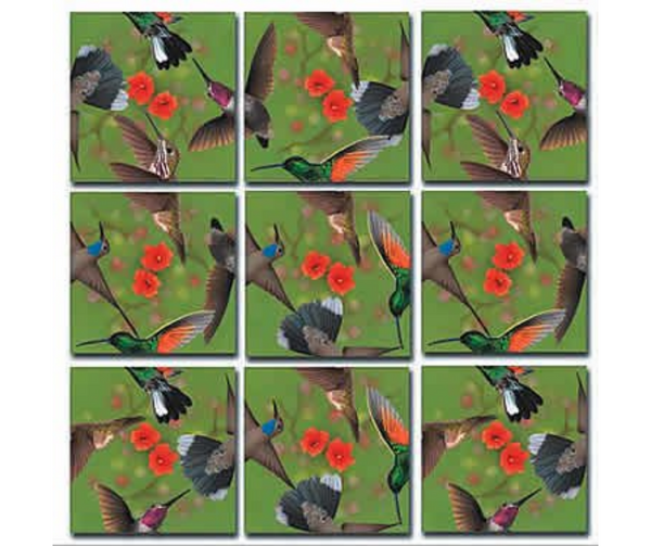 Scramble Squares - Hummingbirds.