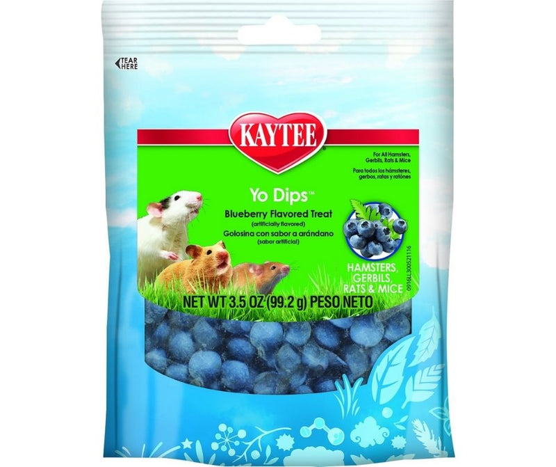 Kaytee Fiesta Yo Dips Blueberry for Hamsters, Gerbils, Mice, and Rats