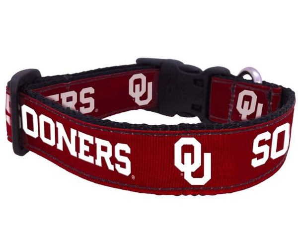 All Star Dogs - University of Oklahoma Sooners Dog Collar