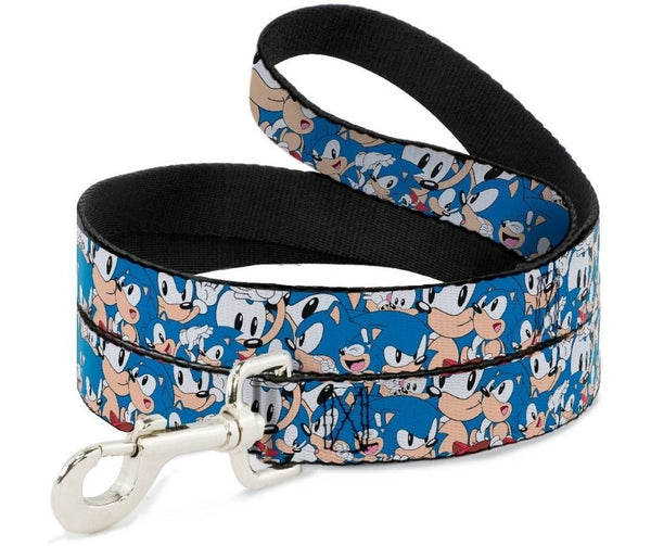 Sonic Classic Poses Dog Leash by Buckle-Down