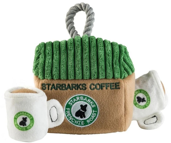 Starbarks Coffee House Interactive Dog Toy by Haute Diggity Dog
