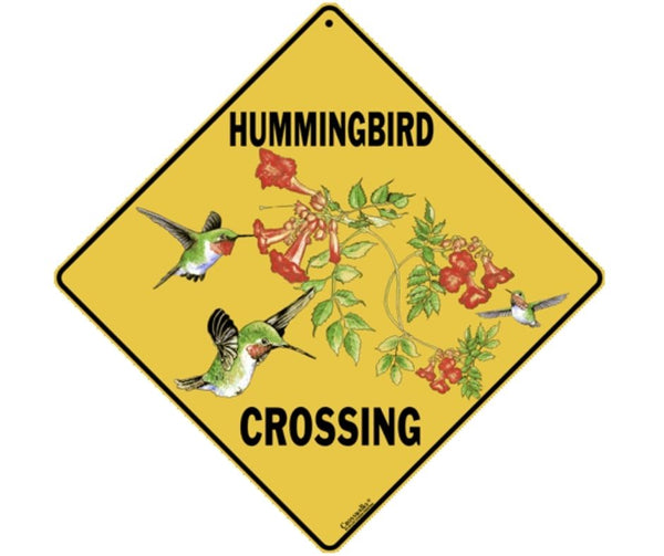 Hummingbird Crossing Sign by Crosswalks