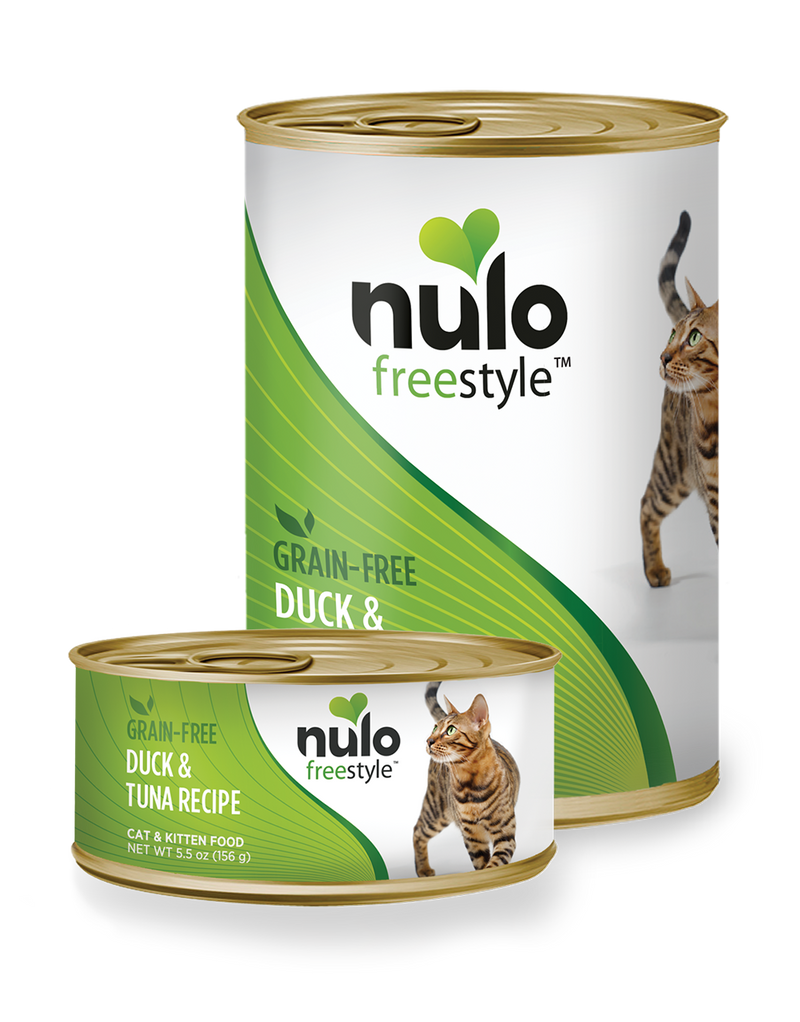 Nulo Freestyle Duck & Tuna Recipe Grain-Free Cat Can 5.5 oz. - Southern Agriculture