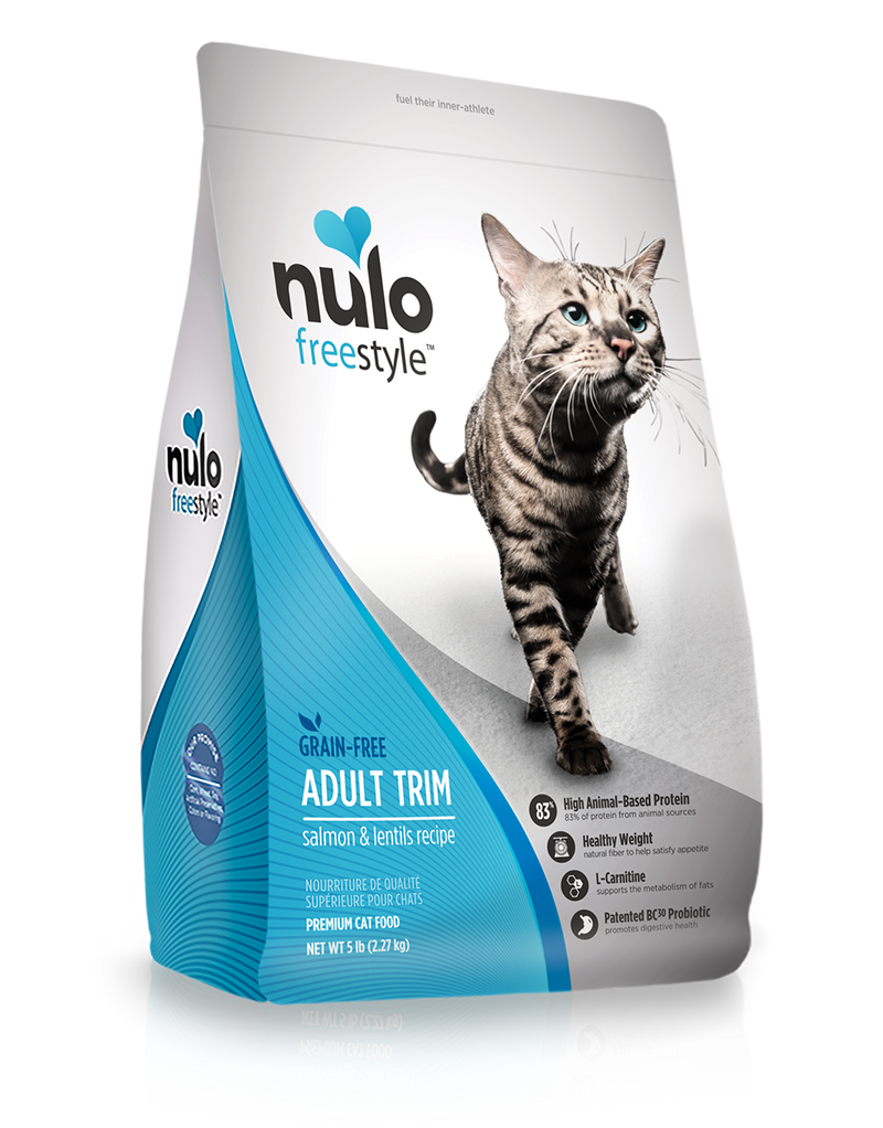 Nulo Freestyle Adult Trim Salmon & Lentils Grain-Free Cat Food - Southern Agriculture