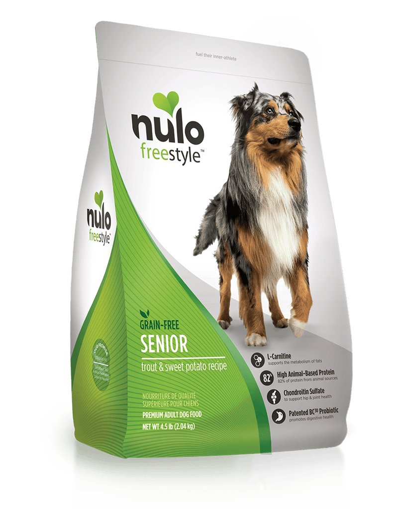 Nulo Freestyle Senior Trout & Sweet Potato Dog Food - Southern Agriculture