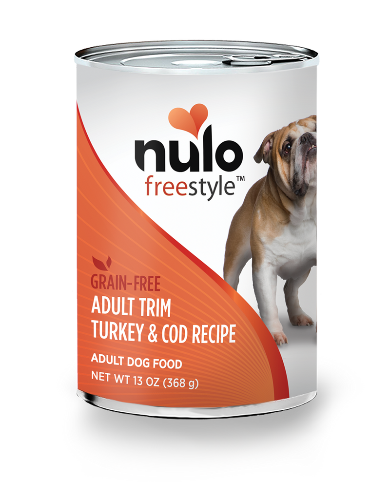 Nulo Freestyle Adult Trim Turkey & Cod Adult Dog Food 13 oz. Can - Southern Agriculture