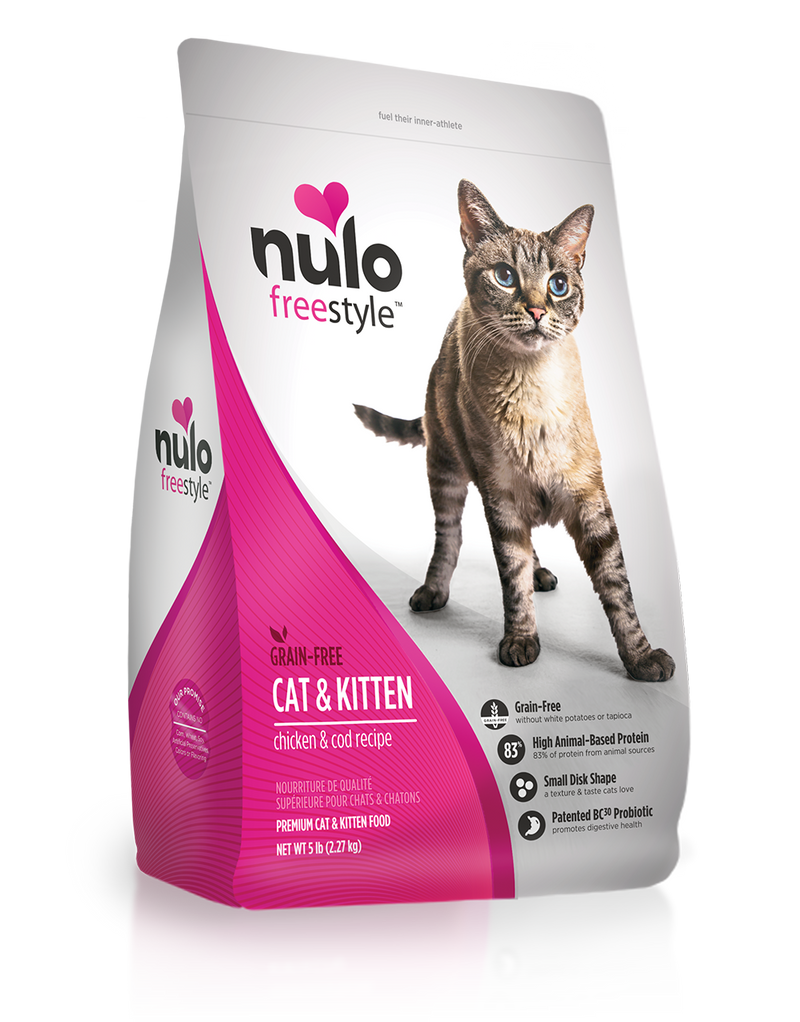 Nulo Freestyle Grain Free Chicken & Cod Cat & Kitten Food - Southern Agriculture