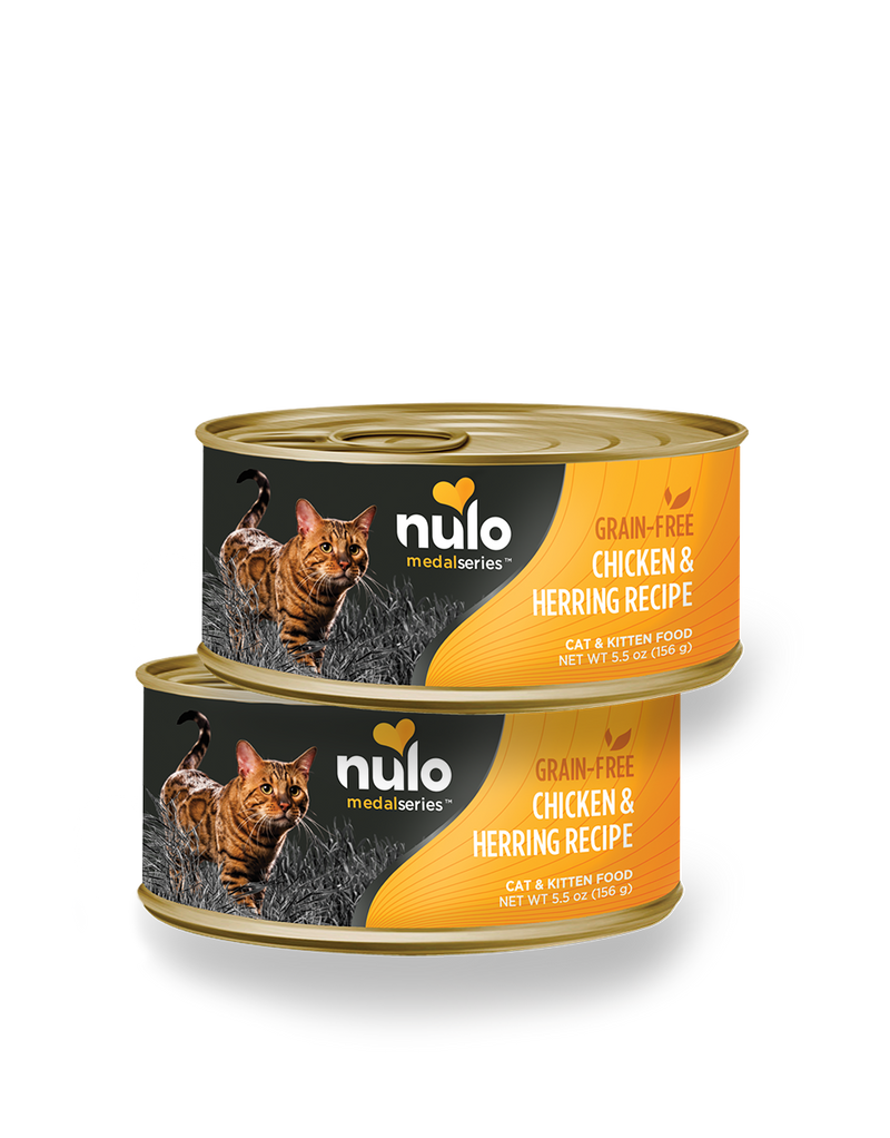 Nulo Freestyle Chicken & Herring Recipe Grain-Free Cat Can 5.5 oz. - Southern Agriculture