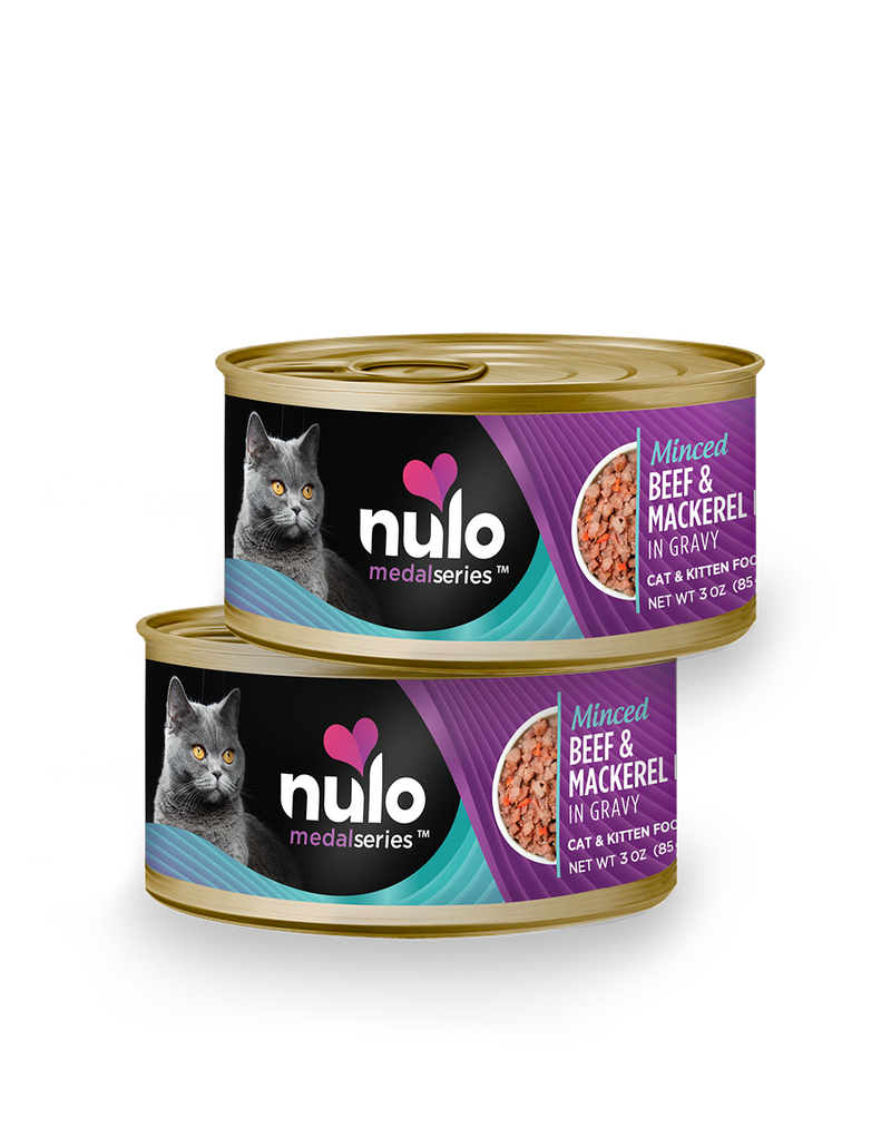 Nulo Freestyle Minced Beef & Mackerel - Southern Agriculture