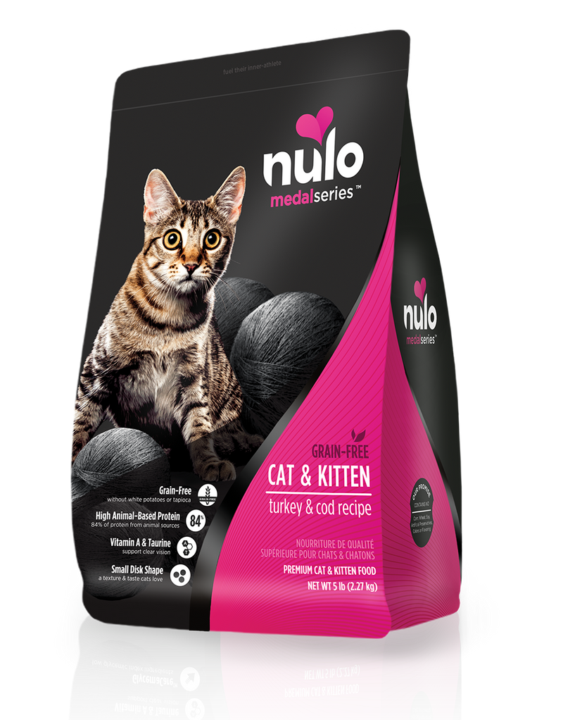 Nulo Hairball Management Turkey & Cod Grain-Free Cat Food - Southern Agriculture