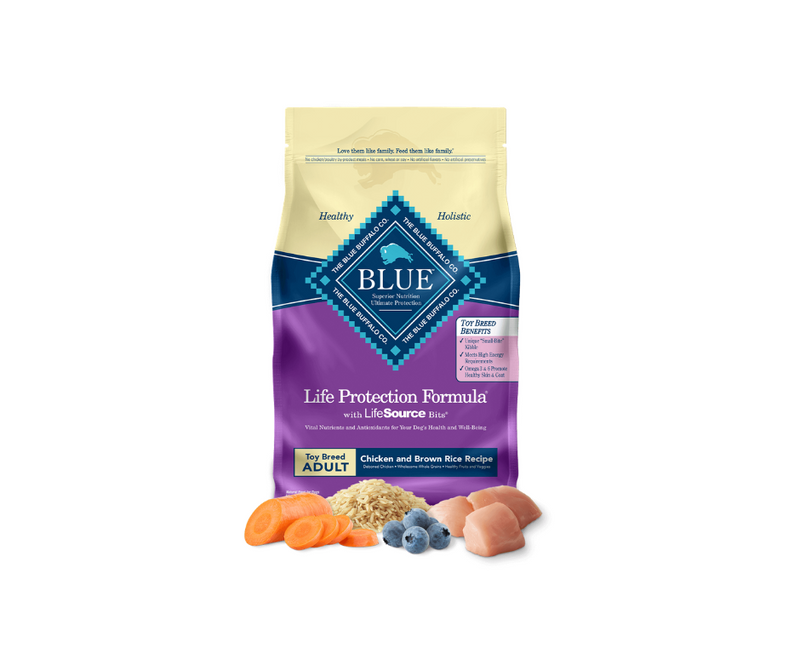 Blue Buffalo Life Protection Formula - Toy Breed, Adult Dog. Chicken and Brown Rice Recipe - Southern Agriculture