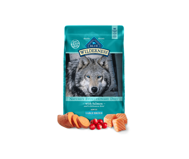 Blue Buffalo Wilderness - Large Breed, Adult Dog. Salmon Recipe - Southern Agriculture