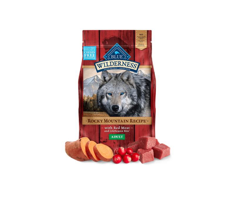 Blue Buffalo Wilderness Rocky Mountain - Adult Dog. Red Meat Recipe - Southern Agriculture