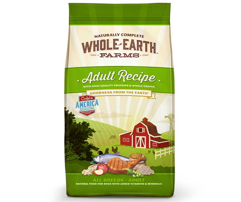 Whole Earth Farms - All Breeds. Adult Dog Recipe - Southern Agriculture