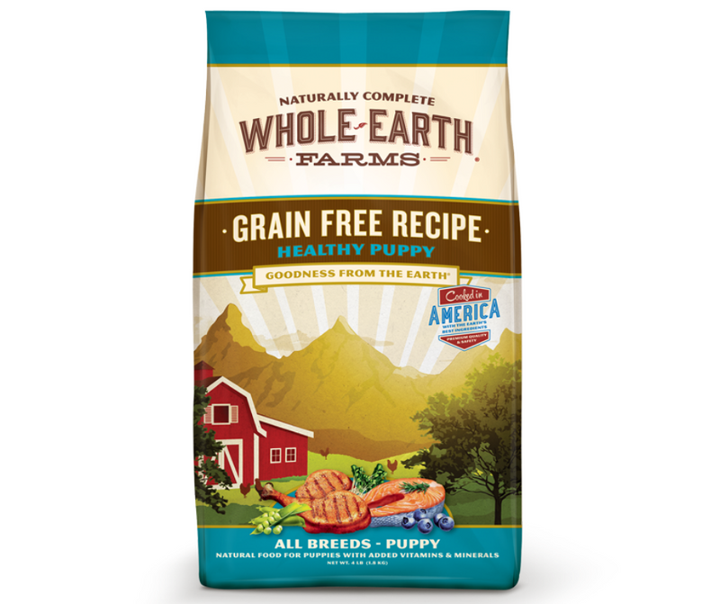 Whole Earth Farms Grain Free - All Breeds, Puppy Healthy Puppy Recipe - Southern Agriculture