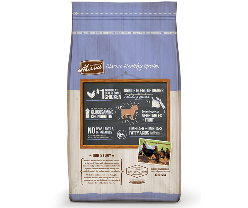 Merrick Classic Healthy Grains - All Breeds. Puppy Recipe - Southern Agriculture