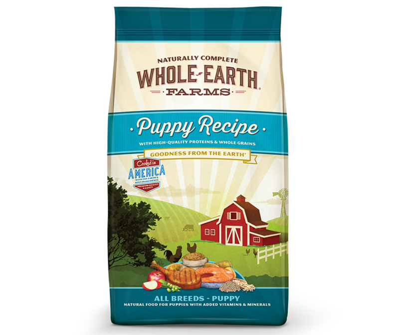 Whole Earth Farms Original - All Breeds. Puppy Recipe - Southern Agriculture