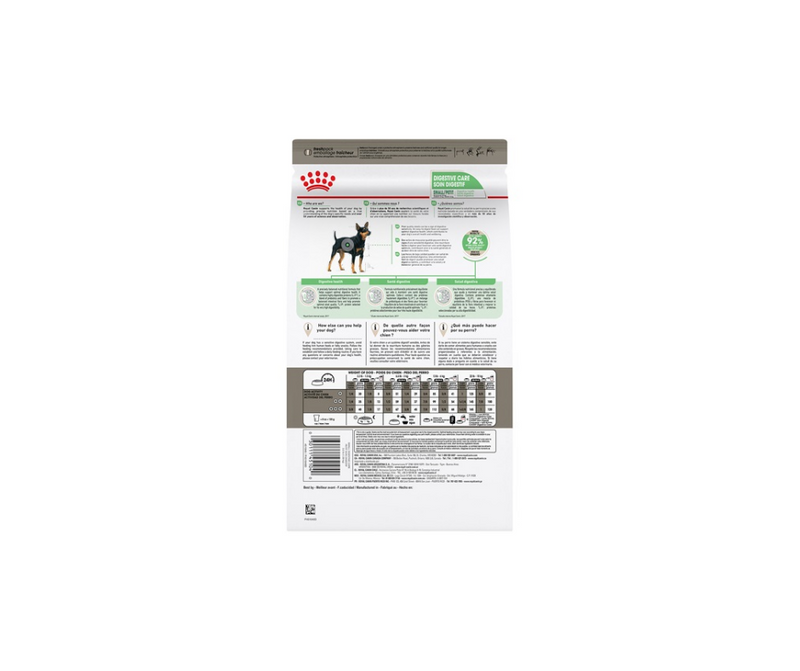 Royal Canin Digestive Care - Small Breed Dog. Dry Dog Food - Southern Agriculture