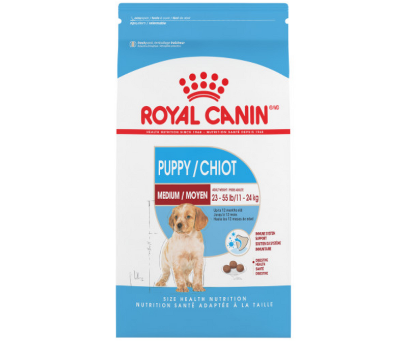 Royal Canin - Medium Breed, Puppy. Dry Dog Food - Southern Agriculture