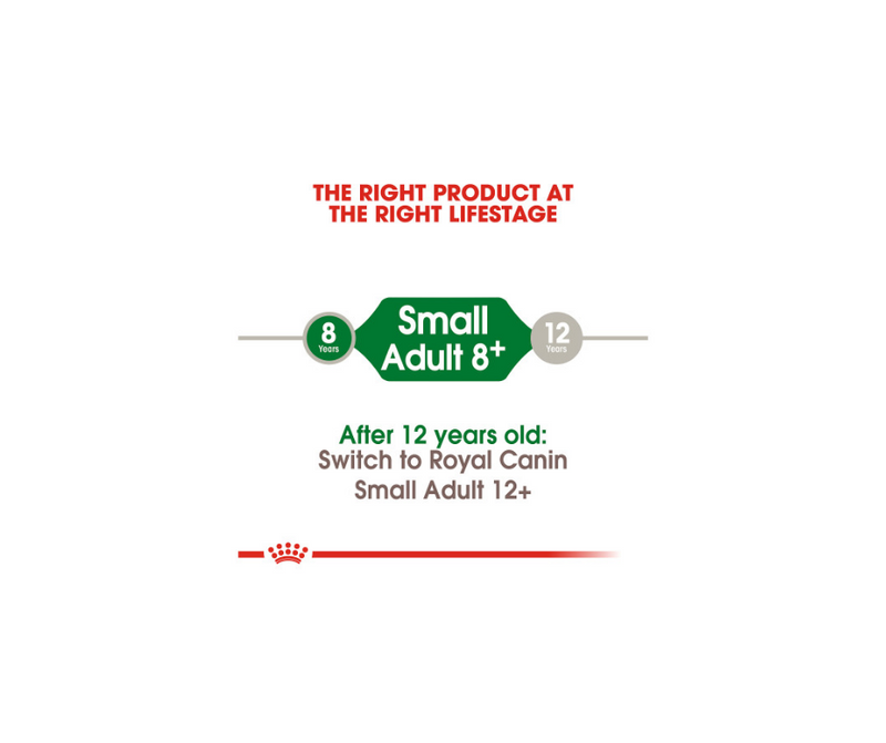 Royal Canin - Small Breed, Adult Dog. Aging 8+ Dry Dog Food - Southern Agriculture