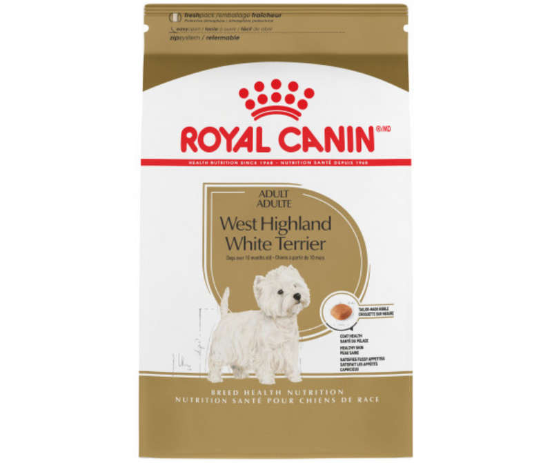 Royal Canin - Adult West Highland White Terrier. Dry Dog Food - Southern Agriculture