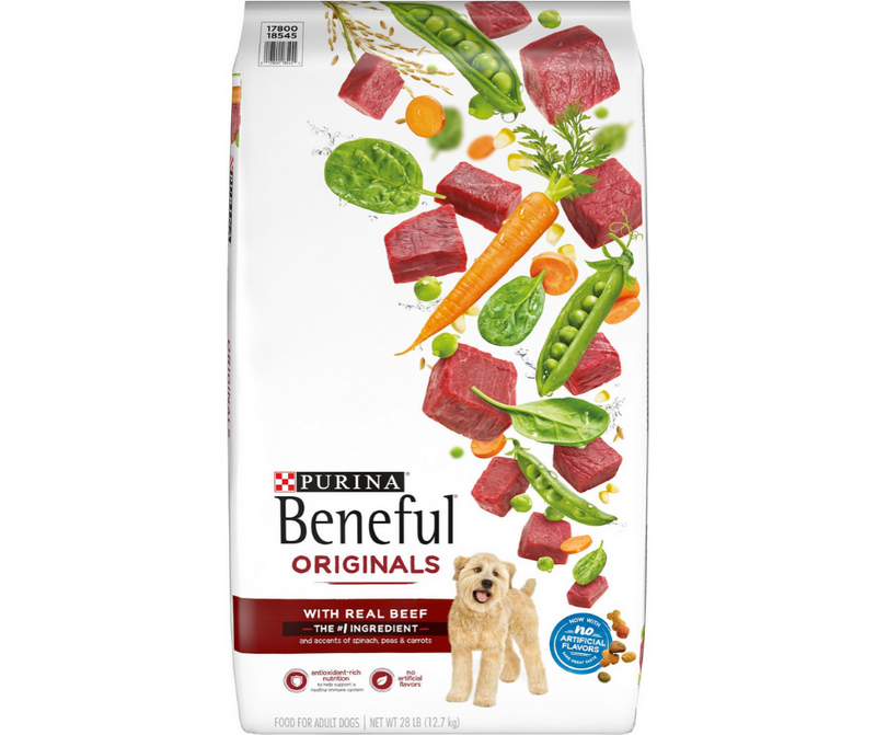 Purina Beneful, Originals - All Breeds, Adult Dog.  Real Beef Recipe - Southern Agriculture