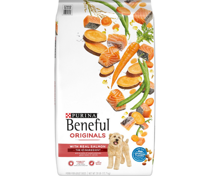 Purina Beneful, Originals - All Breeds, Adult Dog.  Real Salmon Recipe - Southern Agriculture