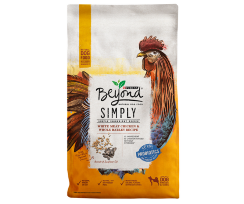 Purina Beyond, Simply 9 - All Breeds, Adult Dog. White Meat Chicken & Whole Barley Recipe - Southern Agriculture