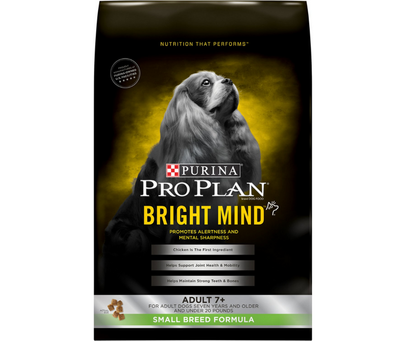 Purina Pro Plan,  BRIGHT MIND - Small Breed, Adult Dog Aging 7+ Chicken Recipe - Southern Agriculture
