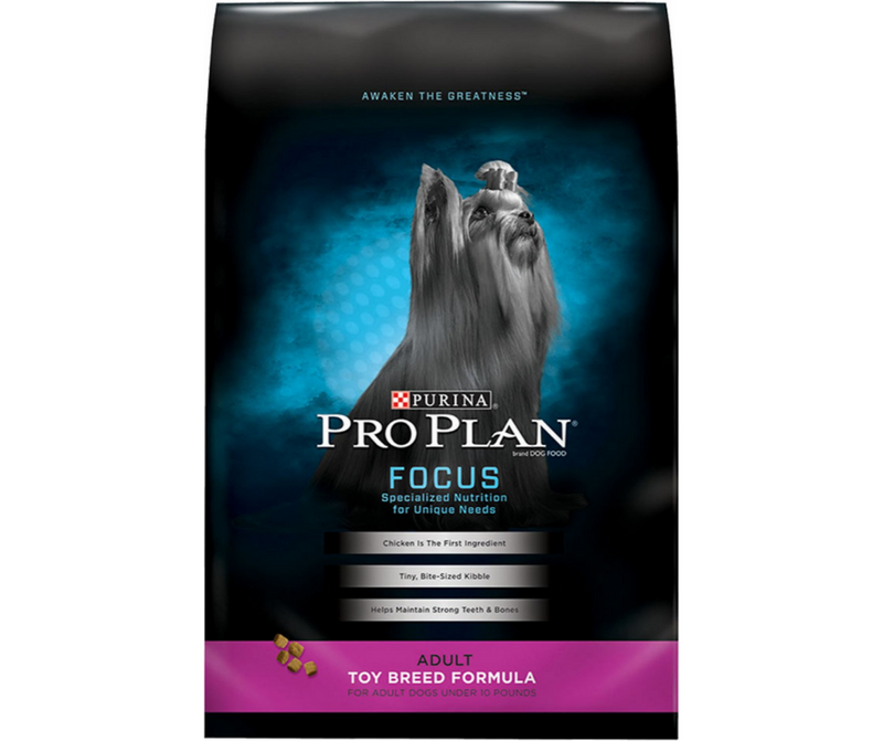 Purina Pro Plan, FOCUS - Toy Breed, Adult Dog. Chicken Recipe - Southern Agriculture