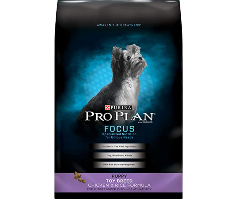 Purina Pro Plan, FOCUS - Toy Breed, Puppy. Chicken & Rice Recipe - Southern Agriculture