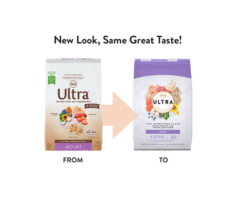 Nutro Ultra - All Breeds, Adult Dog. Chicken, Lamb, and Salmon Recipe - Southern Agriculture