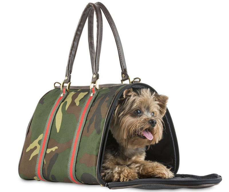 Pet Tote JL Duffel - Camouflage with Stripes by Petote - Southern Agriculture
