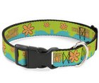 Scooby Doo THE MYSTERY MACHINE Paint Job with Plastic Clip Adjustable Dog Collar - Southern Agriculture