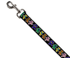 Greatful Dead Dancing Bears Dog Leash 1 Inch By 6 Foot - Southern Agriculture