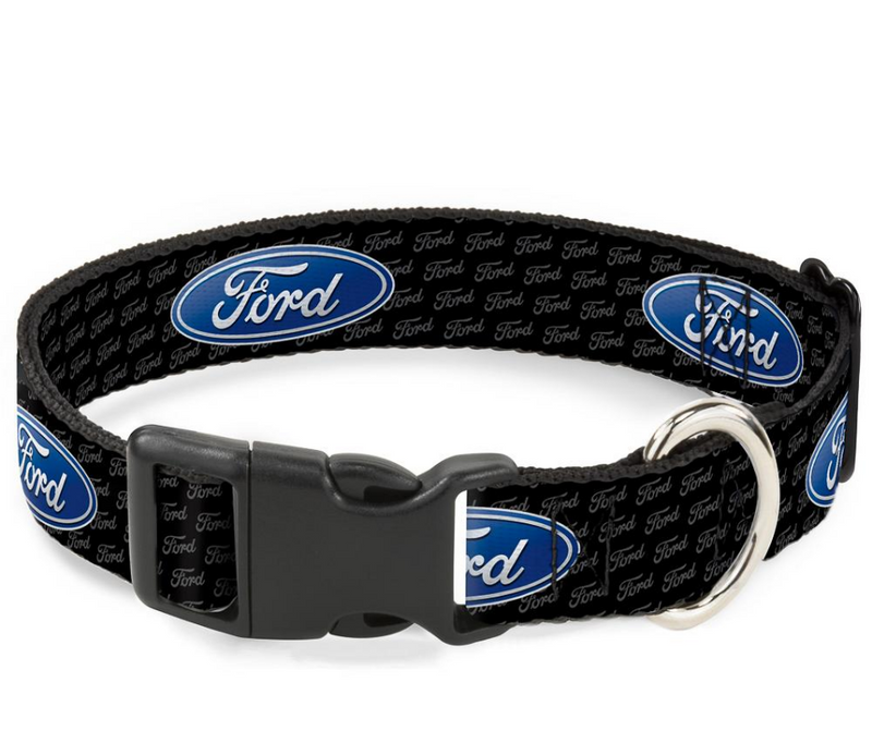 Ford Logo Adjustable Dog Collar - Southern Agriculture