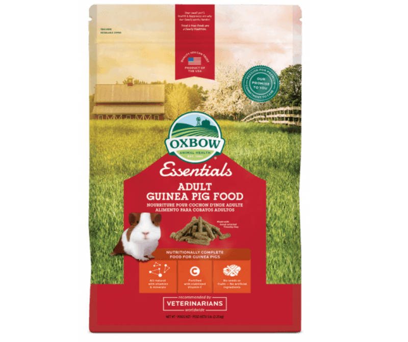 Oxbow Essentials - Adult Guinea Pig Food 5 lb. - Southern Agriculture