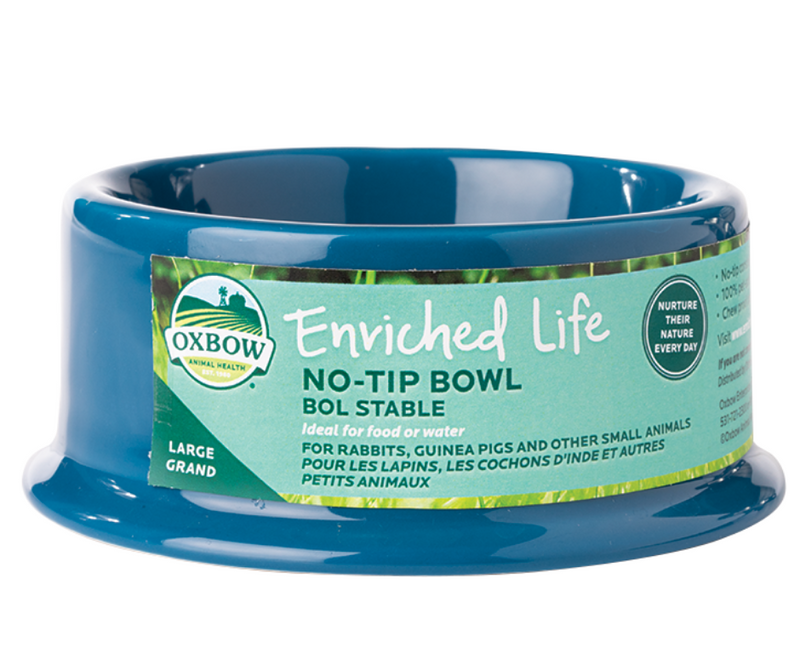 Oxbow No Tip Bowl for Small Animals - Southern Agriculture