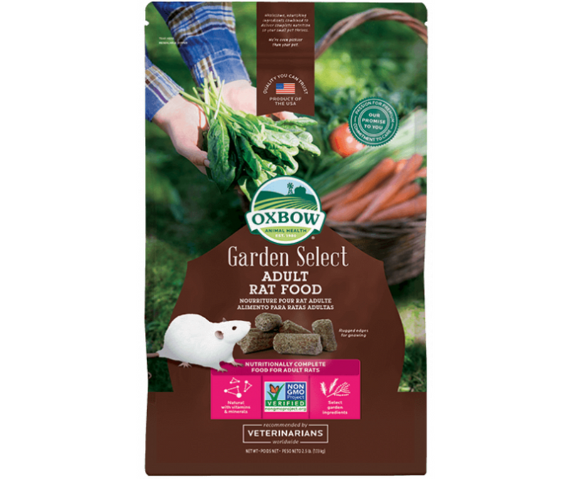 Oxbow Garden Select Adult Rat 2.5 lb. - Southern Agriculture