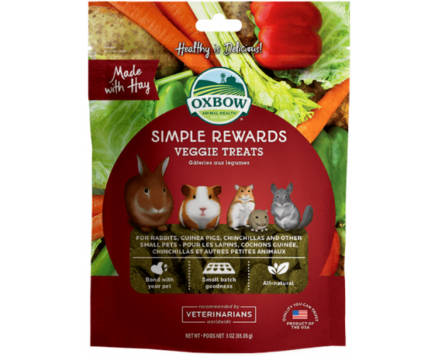 Oxbow Simple Rewards Veggie Treat For Small Animals 3 oz. - Southern Agriculture